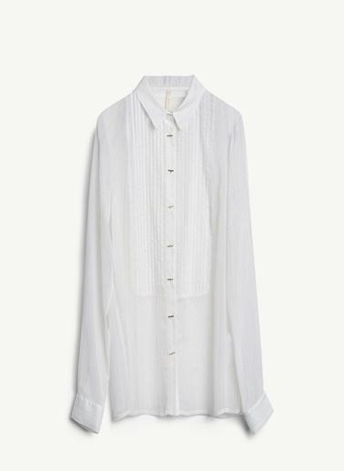 Yargıcı Gömlek Beyaz